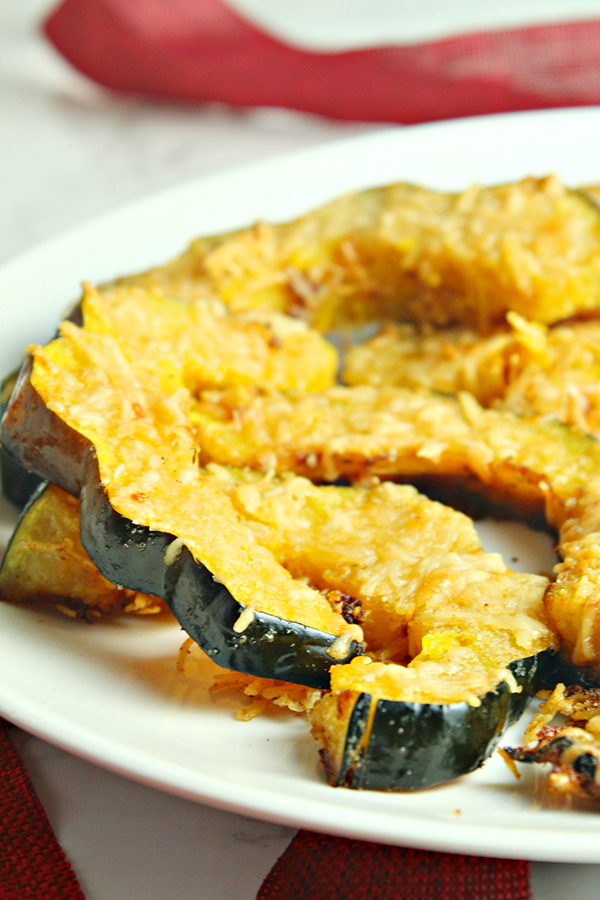 Parmesan Roasted Acorn Squash Recipe
