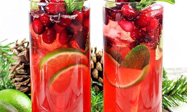 Cranberry Mojito Cocktail Recipe